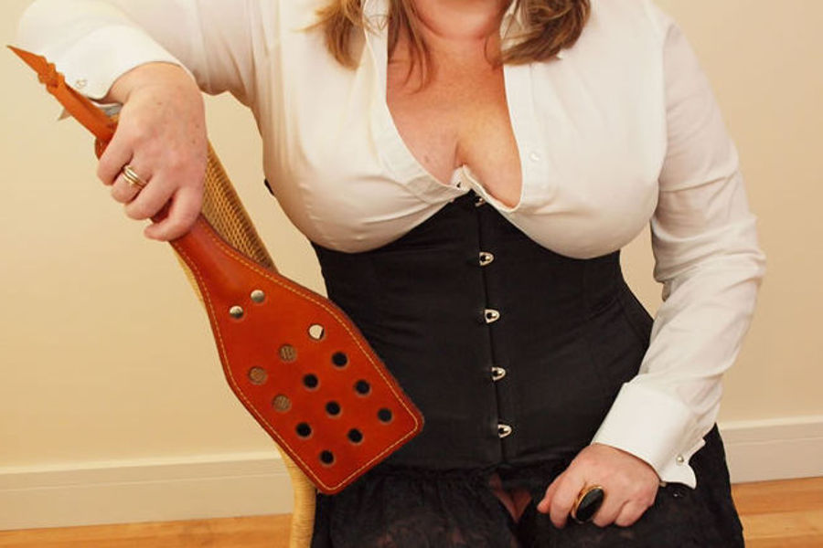 Ms Kay - Paddle in hand
